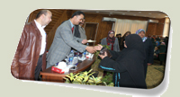 تكريم الجامعة لأبناء جمعية الإيمان لكفالة الأيتام