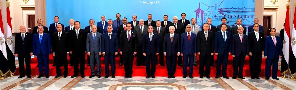المجلس الأعلى للجامعات بحضور الرئيس عبدالفتاح السيسي
